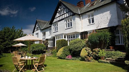 The words 'country house' have been dropped from the hotel's name