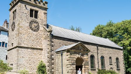 St Mary's Church has thre 'Eye of God' carved on the steeple