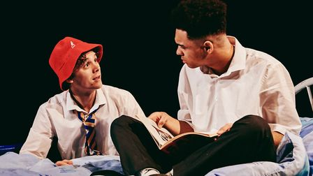 Ted Reilly (left) and Tristan Waterson in Beautiful Thing at The Dukes