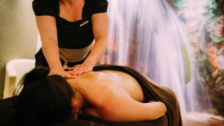 An Ishga invigorating massage designed to remove aches and pains