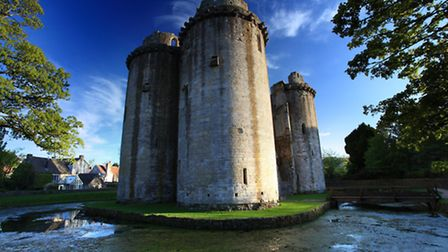 Nunney Castle, photo credit: olliemtdog / thinkstock
