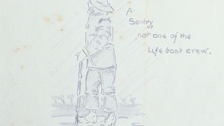 WWI sketches from Gerald Rickword
