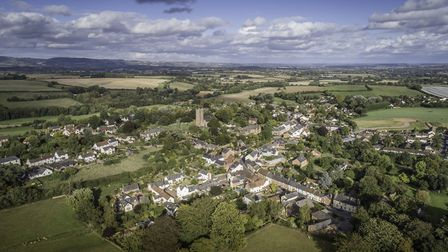 The village of Milverton is based on the medieval street (c) David Leyland /www.ivistaphotography.co
