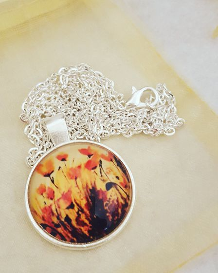 Silver plated photo pendant, £18 Secret Garden Photography, South Ribble Nicola Pearson is a fine