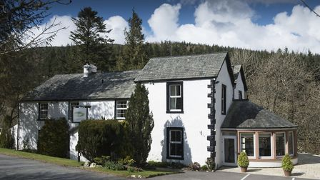 The 17th century hotel is on England's only mountain forest