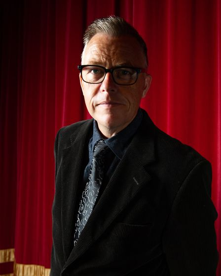 Manager of the Leiston Film Theatre, Wayne Burns. Picture: Sarah Lucy Brown