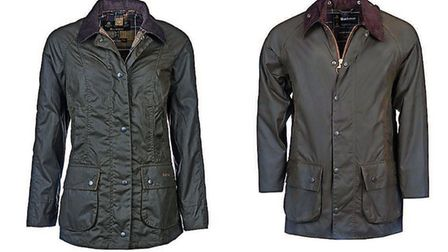 Barbour wear from Gallyons Country Clothing