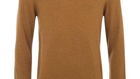 Lambswool sweater from Barbour