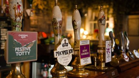 Fans of a top quality pint will be overjoyed at the selection when visiting The George Inn, Croscomb