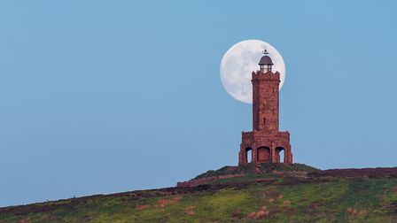 This shot of the moon rising behind Darwen Tower won second prize in the 2018 Lancashire Life reader