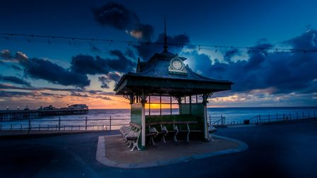 This shot of Blackpool at night won third prize in the 2018 Lancashire Life readers' photography com