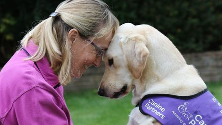 The dogs are capable of transforming the lives of disabled people