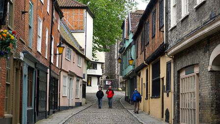 Elm Hill in Norwich (photo: glenbowman, Flickr, CC BY 2.0)