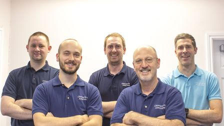 The team of practioners at Chiropractic Associates