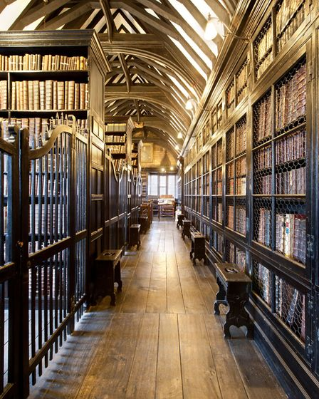 Inside the atmospheric Chetham's Library in Manchester (Picture Loop/Alamy)