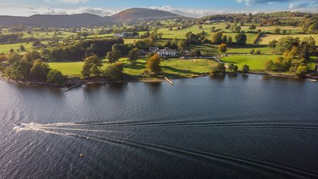 Another Place is right on Ullswater and has stunning views (Picture: Ben Hewes)