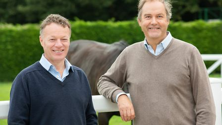 Jason Fildes with Harry Herbert (picture: Amy Lanigan)