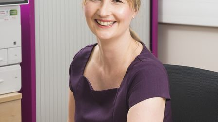 Hannah Pitman, Private Patient Services Manager at Yeovil Hospital (c) Chris Balcombe