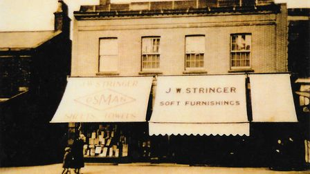 An early picture of the shop