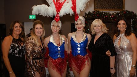 Wendy Lomax, Kerry Daniels and New York Showgirls, Pam O'Hanlon and Jude Pike