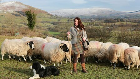 Shepherdess Alison O'Neill has been farming on the fells for 20 years