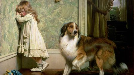 A Special Pleader, a sentimental Victorian work by Charles Burton Barber