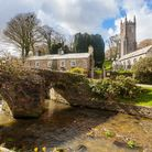 The Church of St Nonna and Pack Horse bridge at Altarnun. Photo credit: Ian Wool, Getty Images/iStoc
