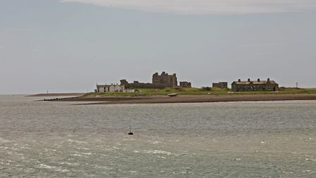 Piel Island is ruled by a 'king' - the pub landlord