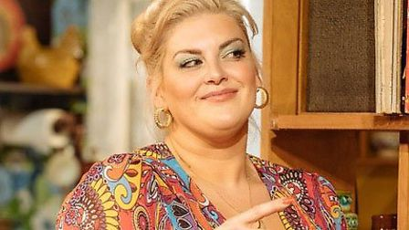 Jodie Prenger as Beverly in Abigail's Party