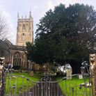 The yew tree in the church yard is thought to be more than 500 year old.
