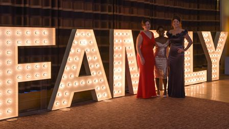 The 2019 awards team Sue Howorth, director of the Family Business Network, Janett Walker and Sophie