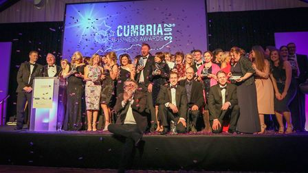 Winners at the Cumbria version of the awards