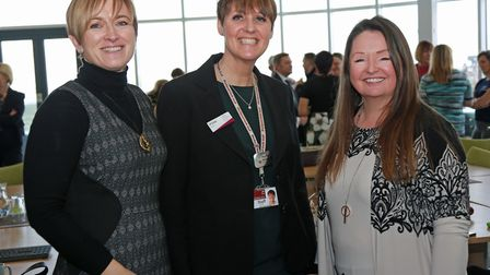 Debbie Terras, The Washington Group, Jill Gray, of Blackpool Sixth Form College and Helen Broughto