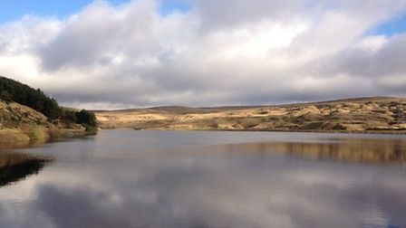Hurstwood Reservoir by Mick Heys