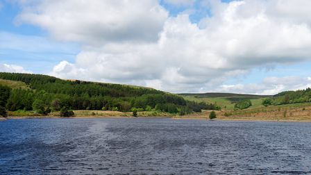 Calf Hey Reservoir by John Lenehan