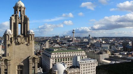 The view from the Royal Liver Building