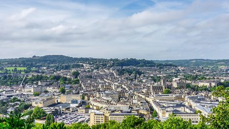 Jaye loves beautiful Bath (c) Hamish Gray / Getty Images