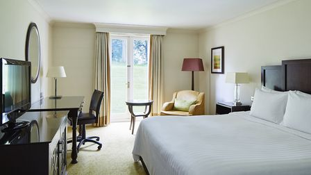 Many bedrooms have views over the grounds