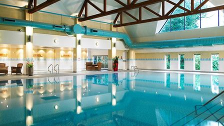 The pool is 20 feet and has a cardio gym nearby