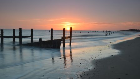 The dawn of human history, Happisburgh beach (photo: iwitness24/Stuart Hipper)