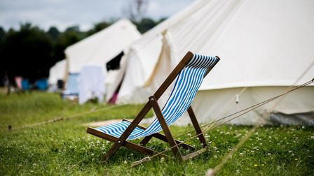 Boutique camping will be available at Porthilly Spirit. Photo credit: Porthtilly Spirit
