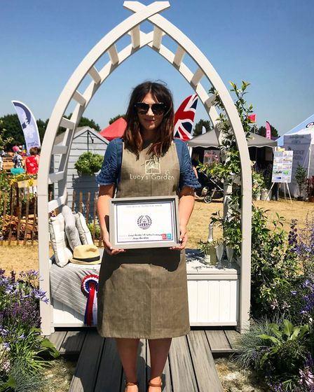 Lucy Belsey from Lucy's Garden at the Royal Norfolk Show