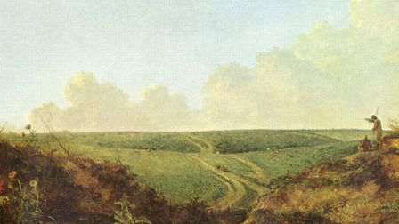 John Crome's Mousehold Heath shows a vastly diferent view to that seen today (credit: Mousehold Heat