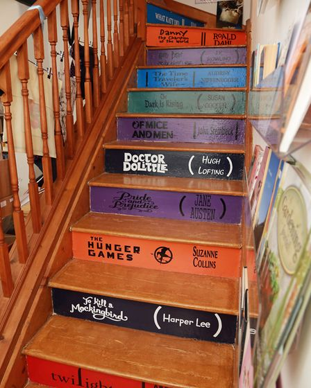 Staircase show you what to expect at The Book Lounge