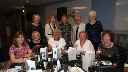 Lady captains from Hillside Golf Club and Wigan Golf Club