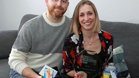 John and Kate Greenhalgh won awards for their Year of Dates business