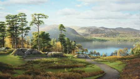 Ullswater from the Devil's Chimney by Alan Thompson