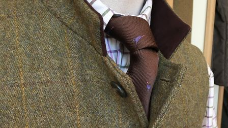 We adore the designs of the Laksen ties at Sporting Threads