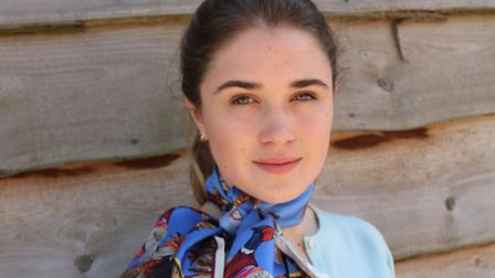 Expect striking, colourful silk scarves by British wildlife artist Clare Shaw at Sporting Threads