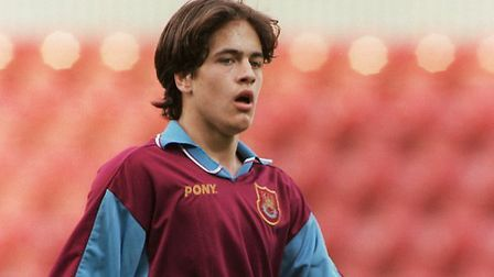He signed for West Ham at just 17